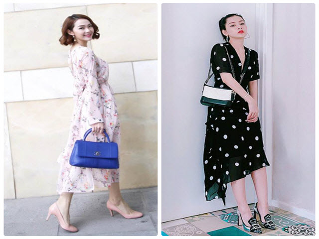 Váy cổ điển 10 năm không lỗi mốt được lòng sao Việt