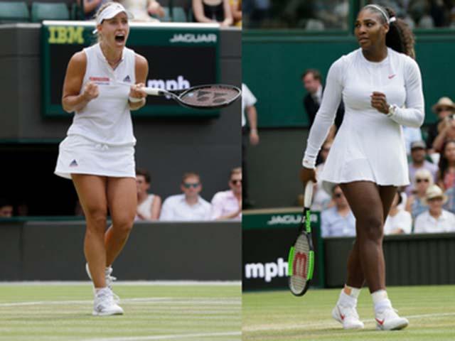 Wimbledon ngày 10: Serena ôm mộng chung kết, Kerber đại chiến Ostapenko