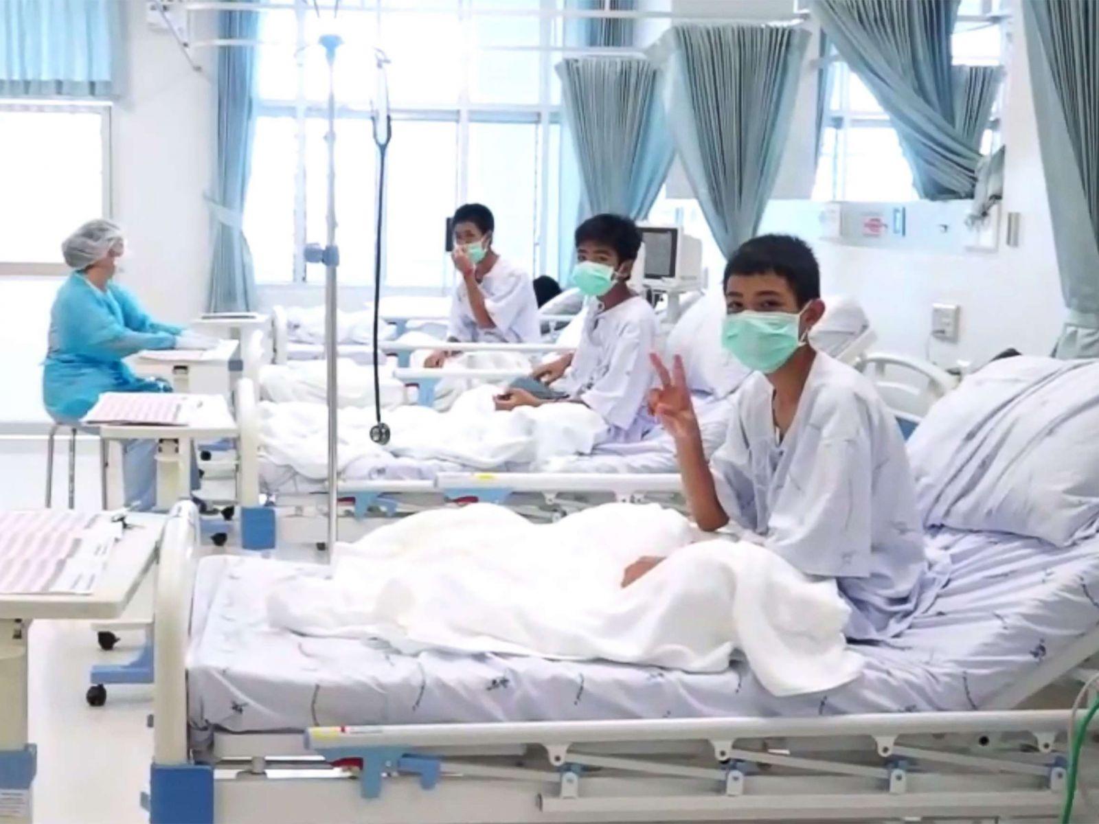 Vụ giải cứu đội bóng Thái Lan: Công bố kết quả xét nghiệm máu - 1
