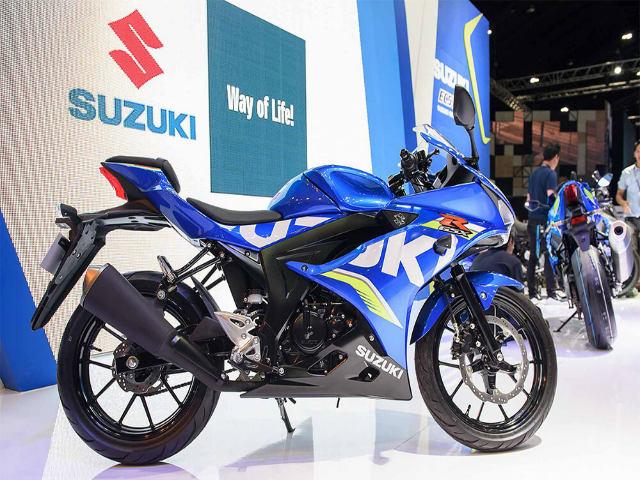 Bảng giá xe máy Suzuki tháng 7/2018: Bền giá, hấp dẫn