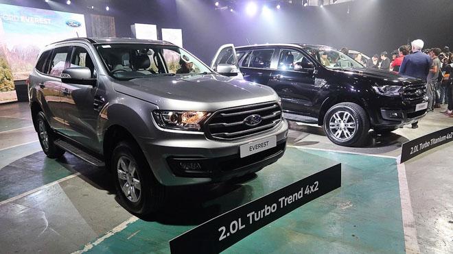 Ford Everest 2019 chính thức ra mắt, giá bán từ 910 triệu đồng - 2