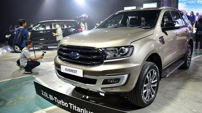 Ford Everest 2019 chính thức ra mắt, giá bán từ 910 triệu đồng - 3