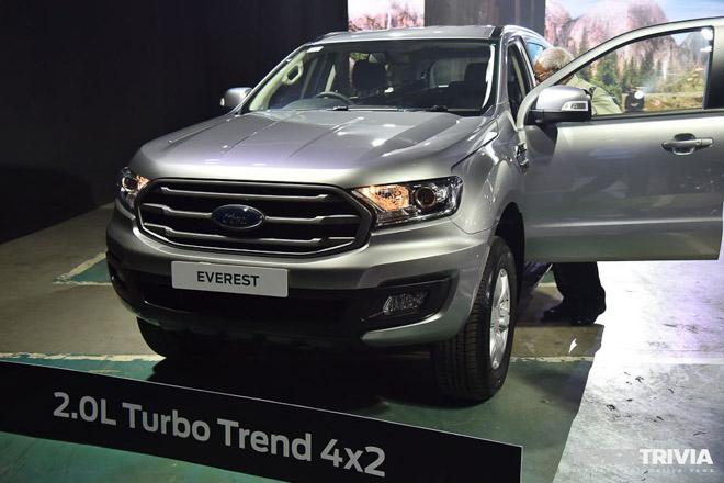 Ford Everest 2019 chính thức ra mắt, giá bán từ 910 triệu đồng - 9