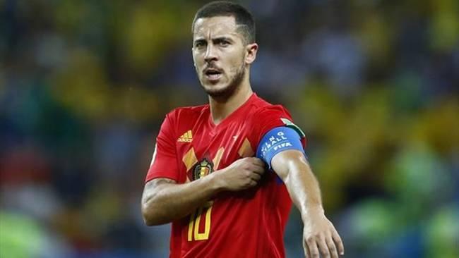 """Eden Hazard, 27 tuổi, là tiền vệ của đội tuyển Bỉ tại World Cup 2018. Cầu thủ này được báo chí đánh giá là mối """"nguy hiểm"""" và là """"công thần"""" trong đội hình."""