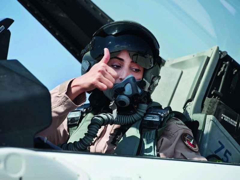 Công chúa Bahrain trở thành phi công máy bay chiến đấu - 1