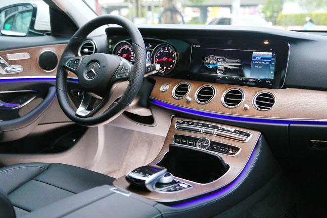 Mercedes E200 2018 bản nâng cấp lộ diện tại Việt Nam: Giá từ 2,099 tỷ đồng - 6