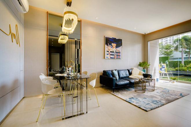 Ngắm căn hộ 72m2 thiết kế sang trọng như resort - 2