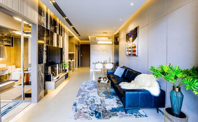 Ngắm căn hộ 72m2 thiết kế sang trọng như resort - 1