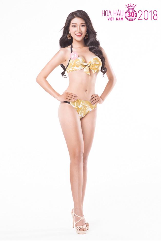 """Ảnh bikini """"nóng rẫy"""" của 38 thí sinh Hoa hậu Việt Nam phía Bắc - 11"""