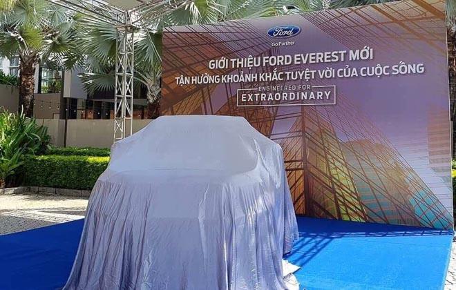Ford Everest hoàn toàn mới đã có mặt tại Việt Nam, giá dự kiến từ 850 triệu đồng - 1