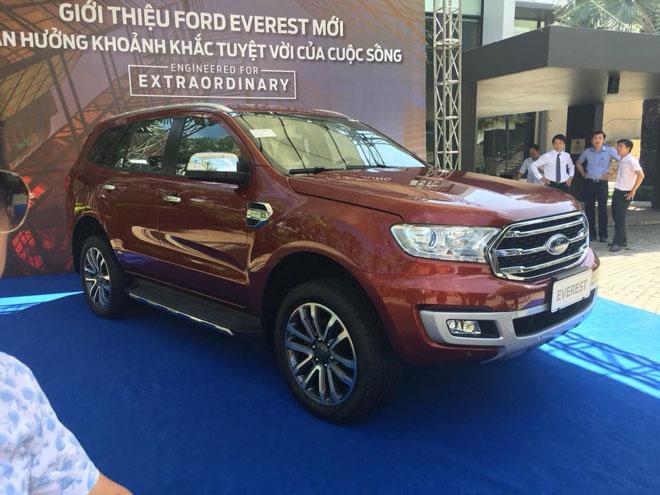 Ford Everest hoàn toàn mới đã có mặt tại Việt Nam, giá dự kiến từ 850 triệu đồng - 2