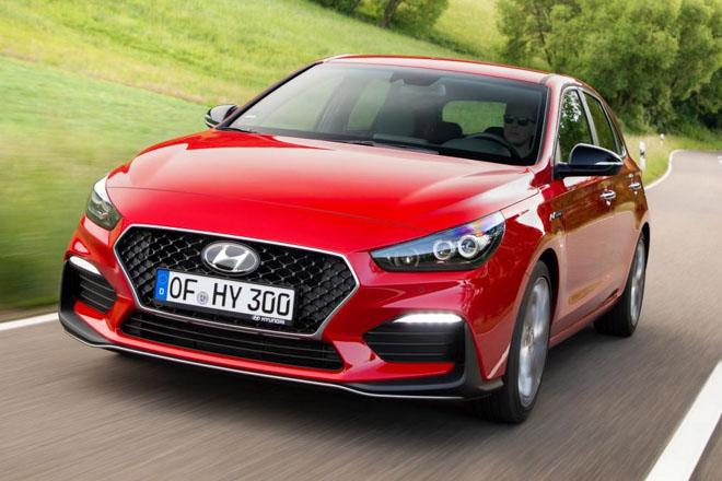 Chiêm ngưỡng chiếc hatchback hiệu năng cao Hyundai i30 N-Line - 1
