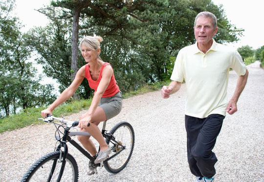 Giảm nguy cơ đau tim nhờ vài giờ...đạp xe - 1