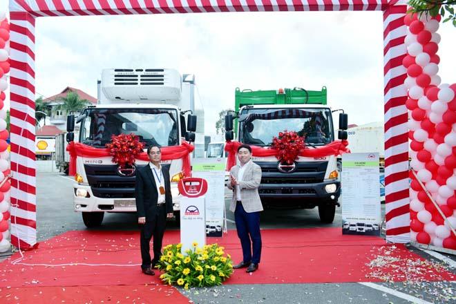 HINO Motors giới thiệu dòng xe tải mới đạt tiêu chuẩn Euro 4 - 1