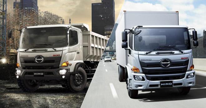 HINO Motors giới thiệu dòng xe tải mới đạt tiêu chuẩn Euro 4 - 2