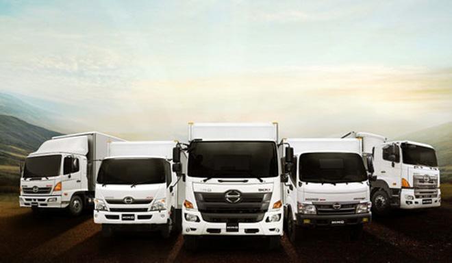 HINO Motors giới thiệu dòng xe tải mới đạt tiêu chuẩn Euro 4 - 7