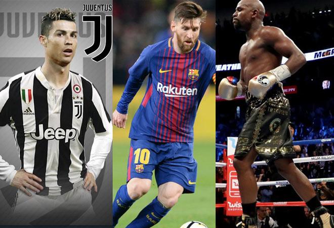 """Ronaldo 1 cú """"nháy chuột"""" có 17 tỷ đồng: """"Đè bẹp"""" Messi và Mayweather - 1"""