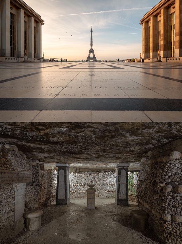 Hầm mộ toàn đầu lâu dưới chân tháp Eiffel và bí ẩn nằm dưới những địa danh nổi tiếng - 1
