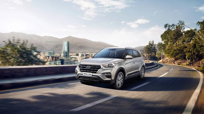 """Hyundai Creta ra mắt thêm phiên bản kỷ niệm """"One Million"""" - 1"""