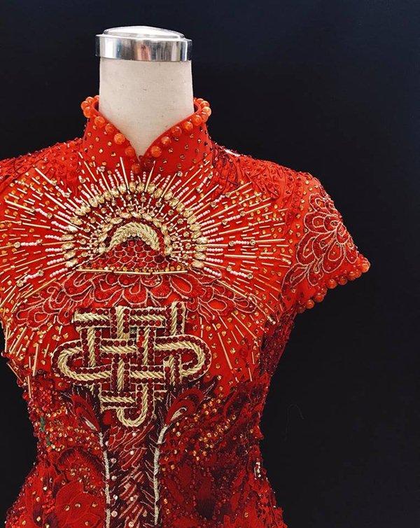 Người đẹp Việt nhận có vòng ba 1 mét bị phản ứng vì mặc áo dài lai áo tắm - 2