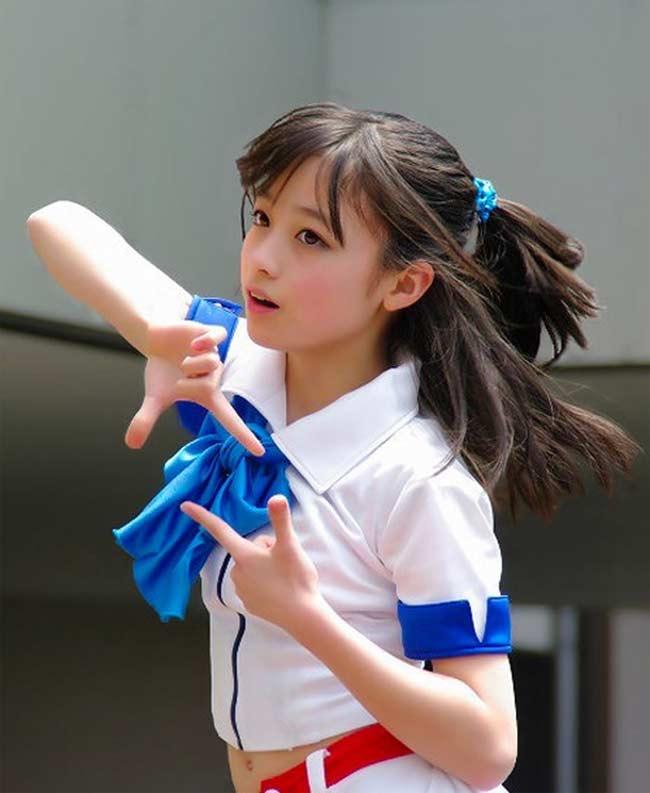 """Say lòng trước vẻ đẹp trong vắt của """"thiếu nữ Nhật 1000 năm có 1"""" - hình ảnh 12"""