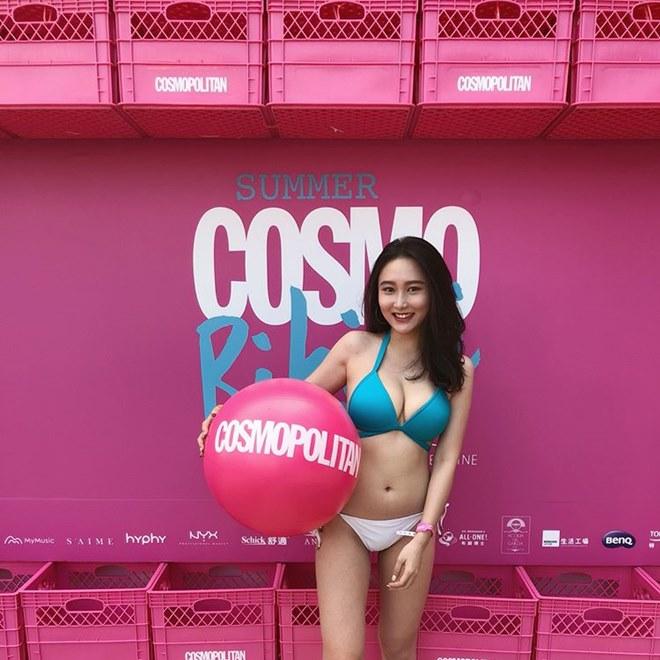 """Mỹ nữ gốc Việt gây """"náo loạn"""" tại sự kiện ở Đài Loan vì quá sexy - hình ảnh 1"""