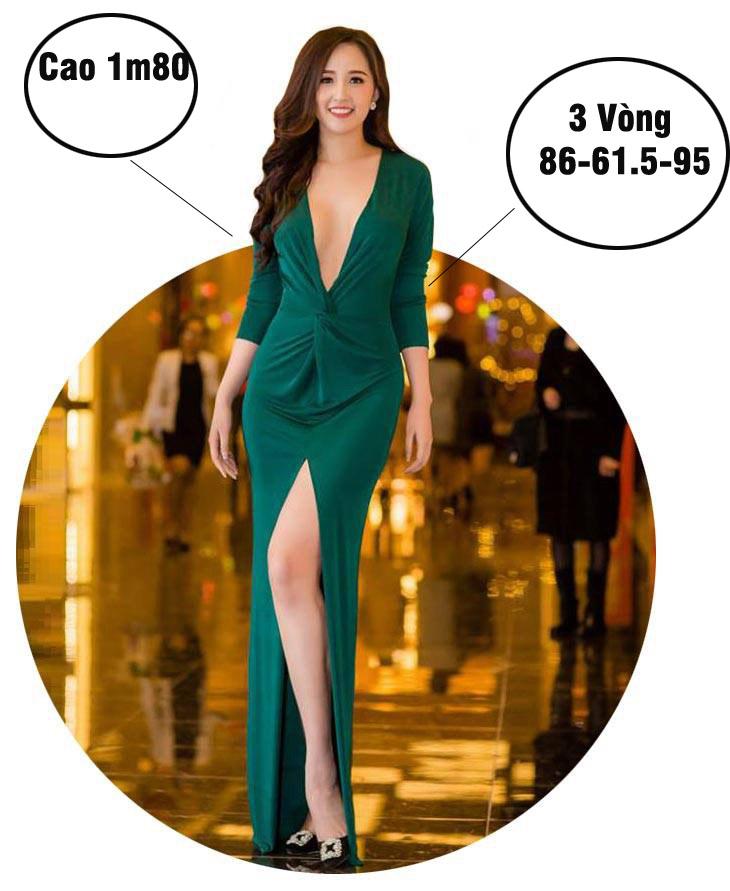 Mai Phương Thúy cao nhất, nóng bỏng nhất lịch sử Hoa hậu Việt Nam? - hình ảnh 1