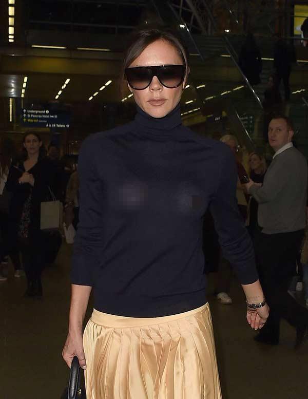 """Victoria Beckham: Nữ hoàng """"thả rông"""" vẫn thanh lịch - hình ảnh 5"""
