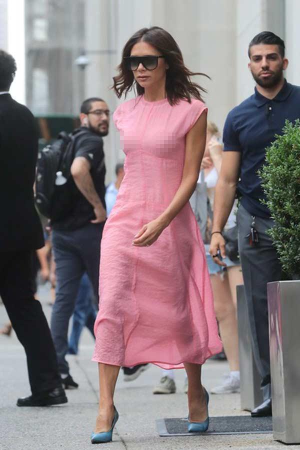 """Victoria Beckham: Nữ hoàng """"thả rông"""" vẫn thanh lịch - hình ảnh 3"""