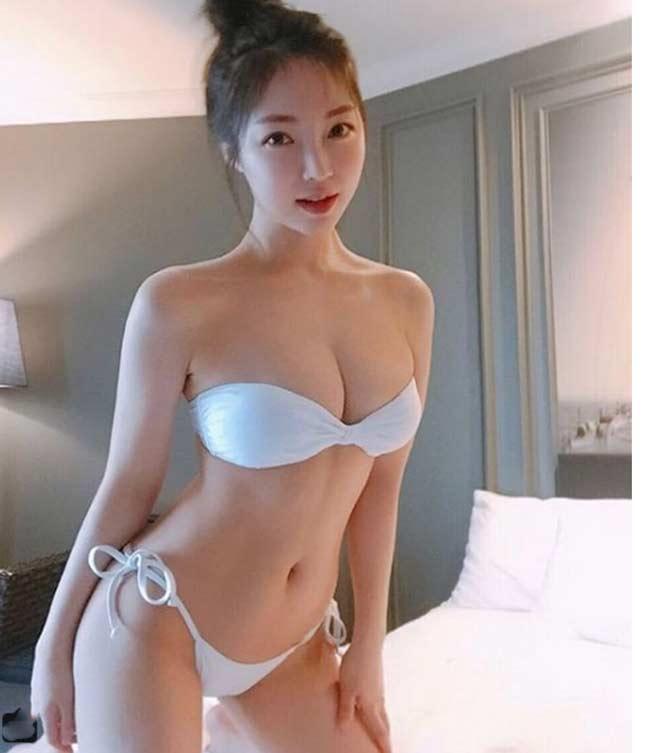 Những kiểu bikini mảnh như sắp đứt dây của gái đẹp xứ Hàn - hình ảnh 5