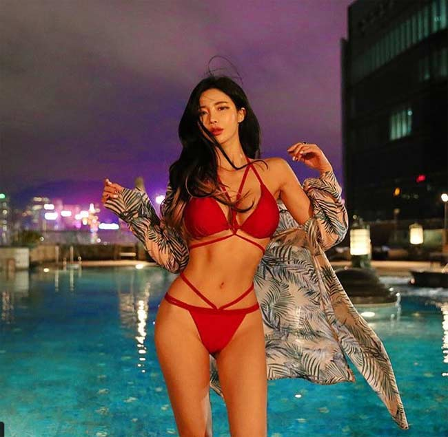 Những kiểu bikini mảnh như sắp đứt dây của gái đẹp xứ Hàn - hình ảnh 8