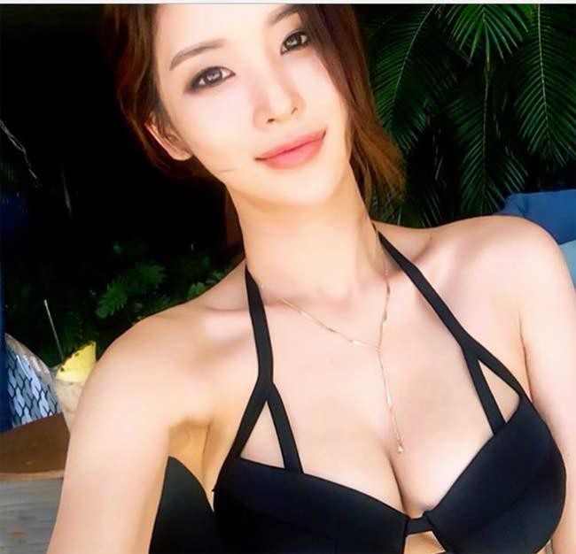 Những kiểu bikini mảnh như sắp đứt dây của gái đẹp xứ Hàn - hình ảnh 12