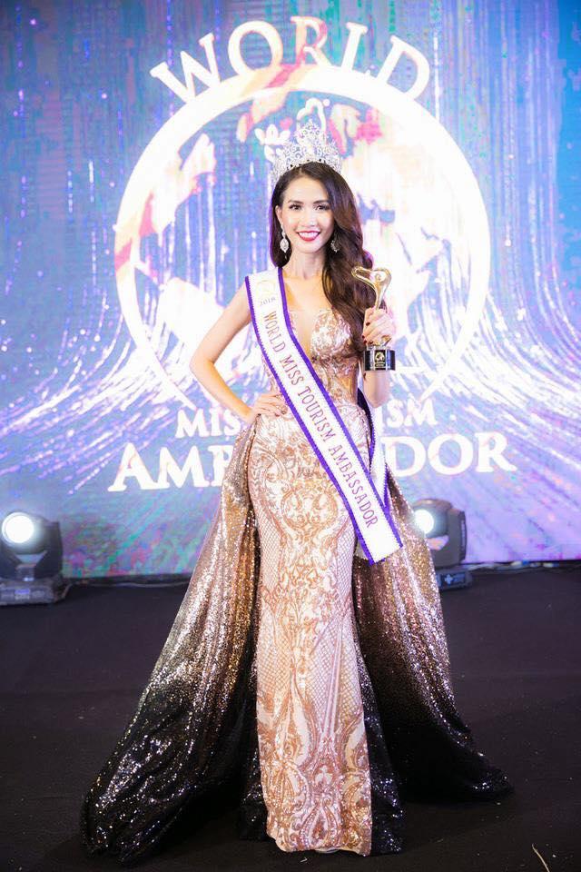 Người đẹp Tiền Giang đăng quang Hoa hậu đại sứ du lịch thế giới - hình ảnh 1