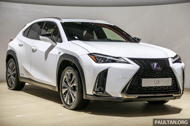 Lexus UX 2019 chính thức ra mắt thị trường Đông Nam Á - 1