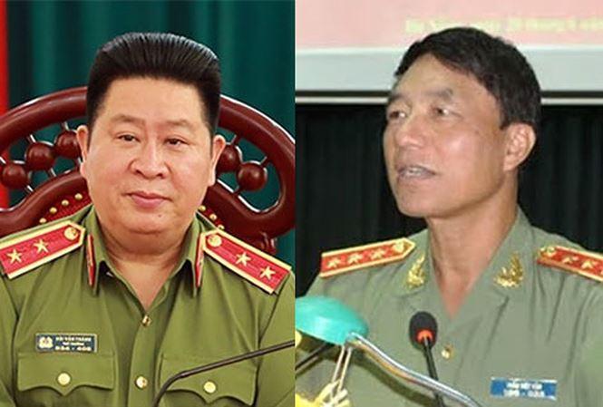 Chủ tịch nước ký quyết định giáng cấp hai tướng công an Trần Việt Tân và Bùi Văn Thành - hình ảnh 1