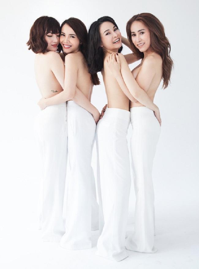 """Những lần mặc bán nude nghẹt thở của Elly Trần, """"thánh nữ Mì Gõ"""" - hình ảnh 9"""