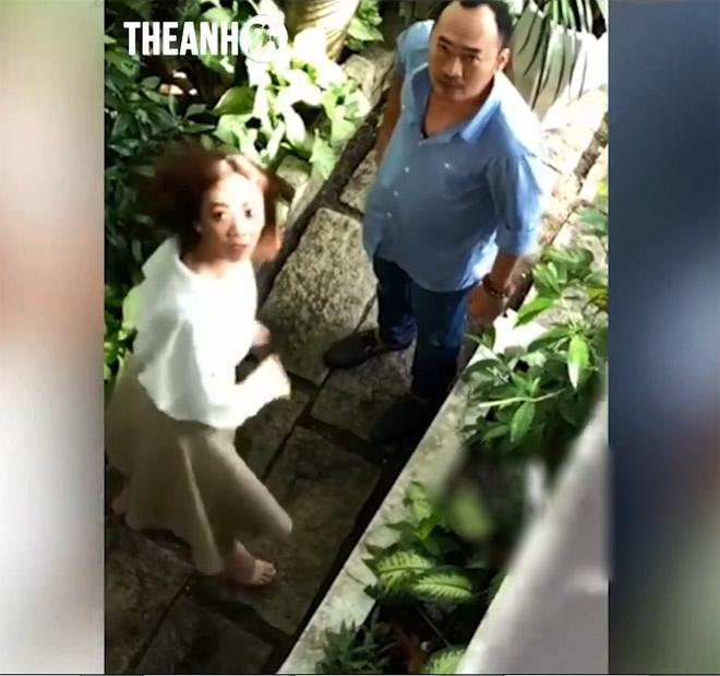 Bị quay clip cãi nhau với chồng chuyện ngoại tình, Thu Trang nói gì? - hình ảnh 1