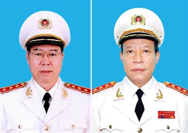 Bổ nhiệm chức danh Thủ trưởng Cơ quan CSĐT và Cơ quan ANĐT Bộ Công an - hình ảnh 1
