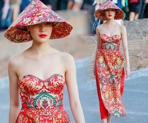 Những lần mặc áo dài gây tranh cãi của Mai Phương Thúy và sao Việt - 9