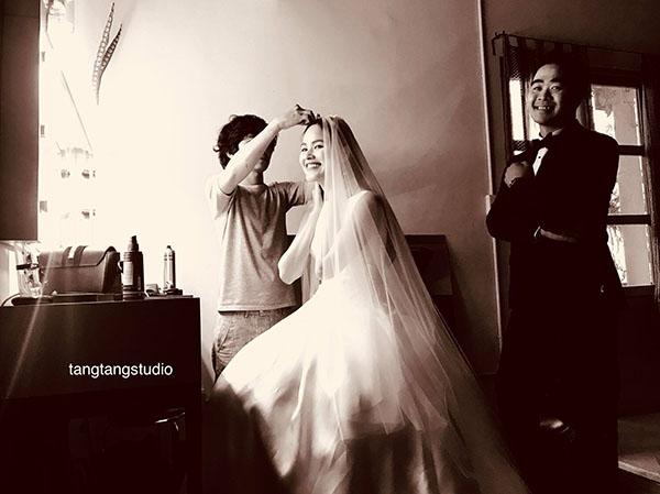 Rò rỉ ảnh cưới của Á quân Next Top đầu tiên Tuyết Lan - hình ảnh 1