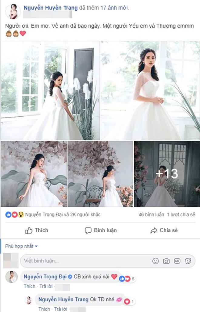 Bị đồn yêu Trọng Đại U23 Việt Nam, mỹ nhân nóng bỏng đáp trả bất ngờ - hình ảnh 2