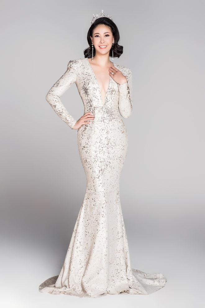 Hoa hậu VN từ đời đầu đến đương kim khoe sắc nghiêng thành - hình ảnh 3
