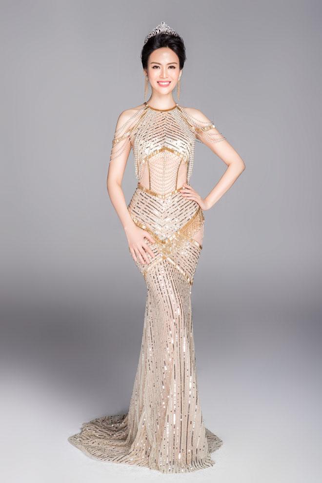 Hoa hậu VN từ đời đầu đến đương kim khoe sắc nghiêng thành - hình ảnh 4