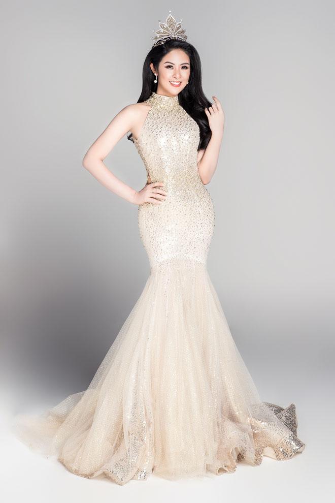 Hoa hậu VN từ đời đầu đến đương kim khoe sắc nghiêng thành - hình ảnh 11