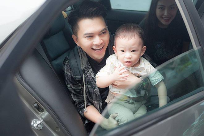 Nam Cường lần đầu công khai con trai 2 tuổi với vợ hot girl - hình ảnh 8