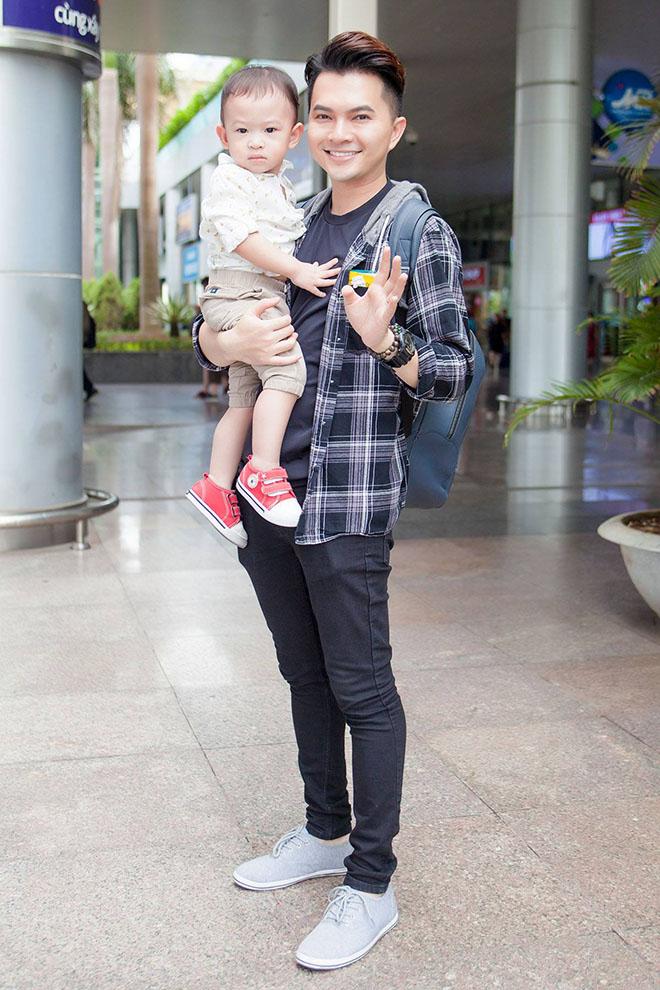 Nam Cường lần đầu công khai con trai 2 tuổi với vợ hot girl - hình ảnh 5