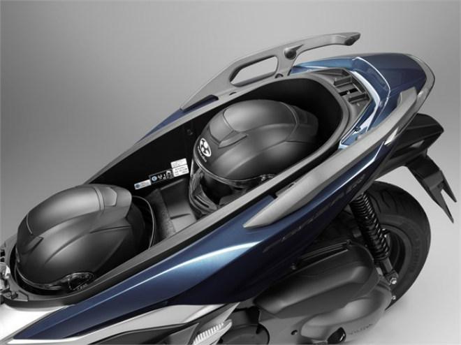 Chi tiết 3 màu, thông số, giá bán xe ga mới Honda Forza 250 - 12