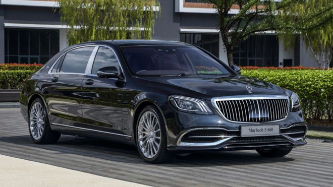 Giá xe Mercedes-Benz S-Class cập nhật tháng 8/2018 - 2