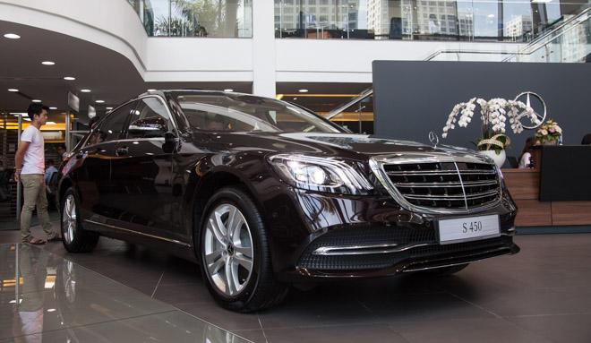 Giá xe Mercedes-Benz S-Class cập nhật tháng 8/2018 - 1