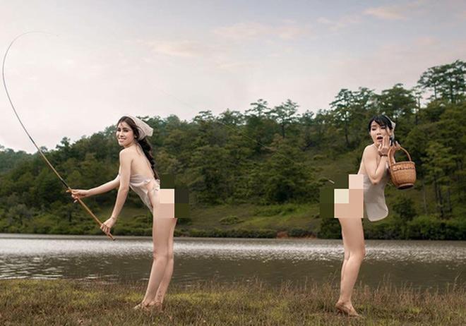 Bộ ảnh của Thư Dung gây tranh cãi nảy lửa cho các nhiếp ảnh gia